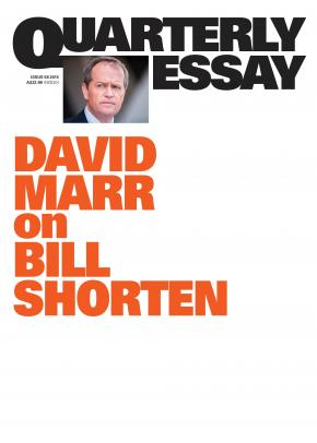 Marr on Bill Shorten