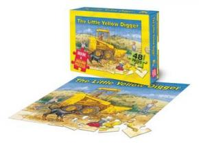 Little Yellow Digger (Book and Jigsaw)