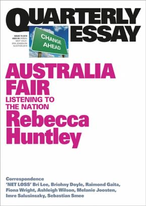 Rebecca Huntley on Progress and Politics