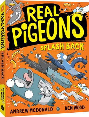 Real Pigeons Splash Back