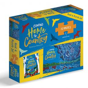 Coming Home To Country Book & Puzzle Set