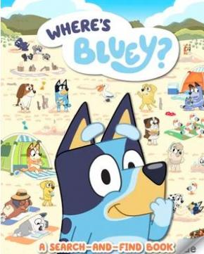 Where's Bluey?: A Search-and-Find Book
