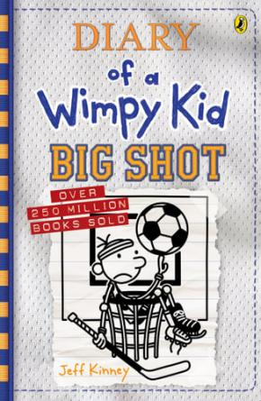 Big Shot: Diary of a Wimpy Kid, Book 16